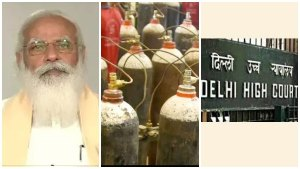 """Overwhelming shock for Modi: Stealing or begging .. Kovid patients should be given oxygen: Delhi High Court 