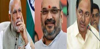 kcr complaints to Narendra modi on amit Shah