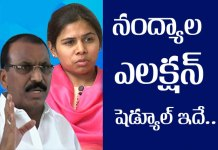 nandyal by election schedule