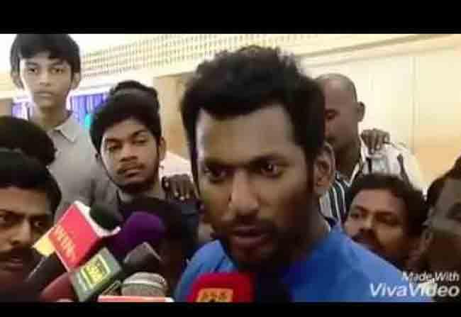 vishal Courageous Statement About Kaveri River Disputes