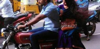 Nani and Sai Pallavi spotted enjoying bike ride