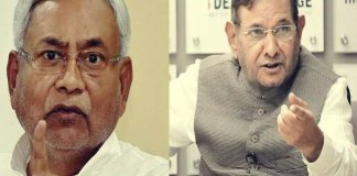 Sharad Yadav Declares War On Nitish Kumar