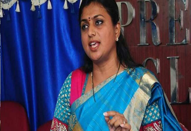 YSRCP MLA Roja sensational comments on AP CM Chandrababu