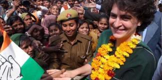 congress leaders demanding priyanka as working president to aicc