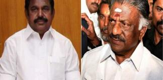 palaniswami fulfilling in the panneerselvam Demand