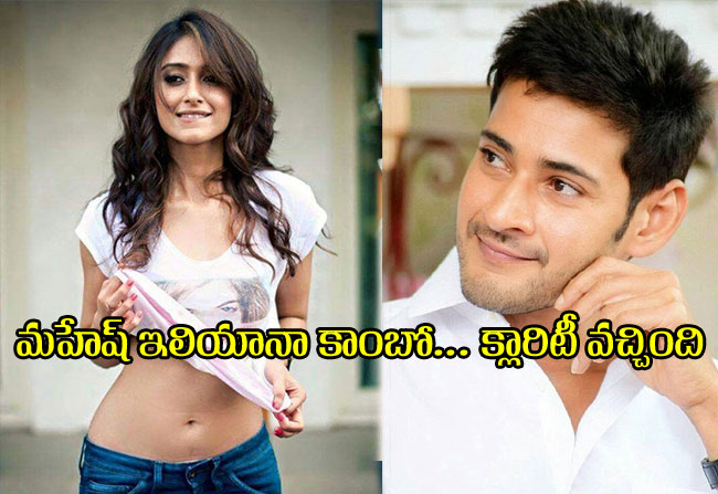 Rumours on Mahesh Ileana act together with vamshi paidipally direction