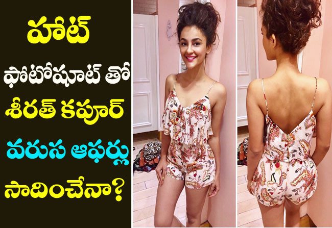 Seerat Kapoor Gets Back to Back Movie Offers