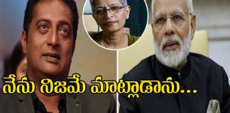 case filed against actor prakash raj after his comments on PM modi