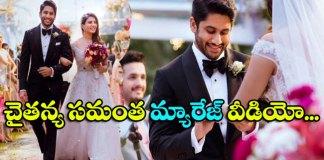 naga chaitanya and samantha christian marriage video