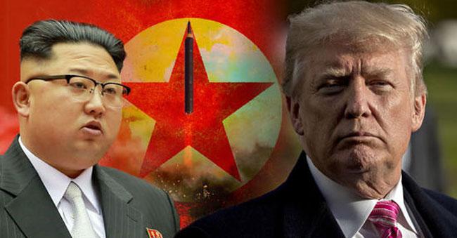 kim Jong un want to war on trump