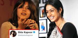 Ekta Kapoor Comments On Sridevi Dead