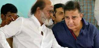 Kamal Hassan and Rajinikanth Visits Tamilnadu State