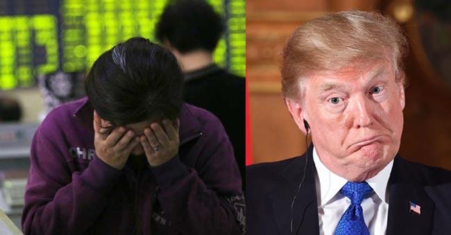 Share Markets Crash Due To Donald Trump Trade Market Restrictions