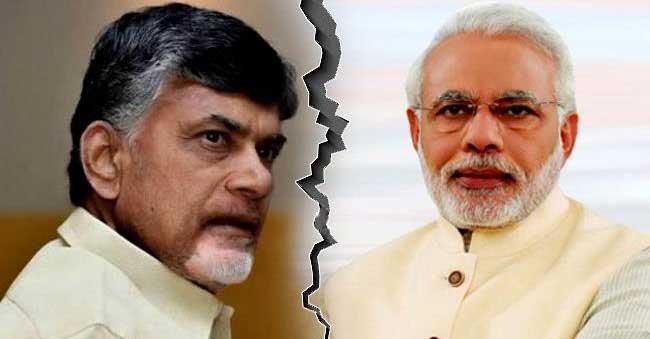 Modi takes Revenge On Chandrababu