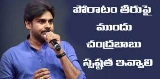 Pawan Kalyan Comments on Chandrababu after Padayatra Finished