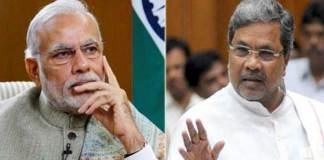 Siddaramaiah counter attacks on Modi