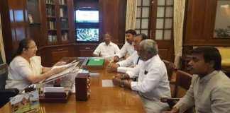 Lok Sabha Speaker Sumitra Mahajan approved YCP Mps resignation