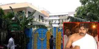 pawan kalyan new house warming ceremony At vijayawada