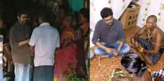tamil Hero Vijay visits Tuticorin police firing victims