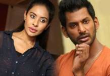 Sri Reddy faces threat from Vishal