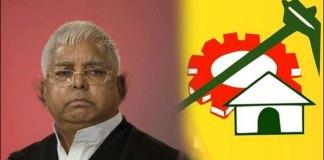TDP MPs Meet in Lalu Prasad Yadav