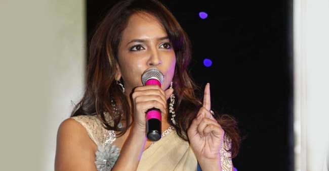 manchu lakshmi fires on social media