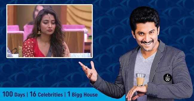 reason behind bhanusree eliminated from bigg boss house