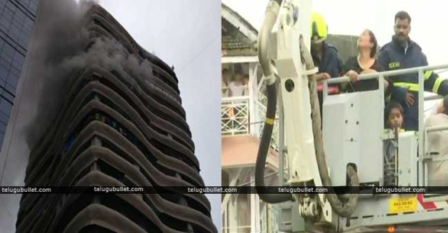 Fire breaks out at Parel Crystal