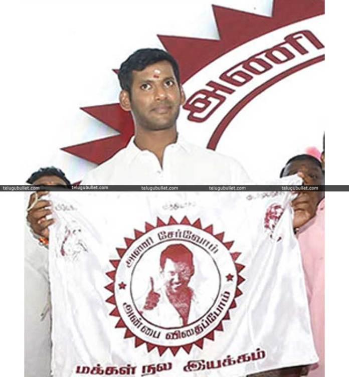 Vishal-Launches-New-Politic