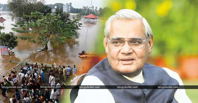 What is the link to Kerala's flood and Vajpayee's life