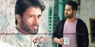 Vijay Devarakonda Nota Treat to NTR Aravinda Sametha Movie