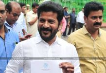 TPCC Chief Revanth Reddy