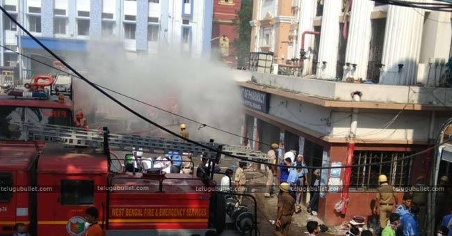 Fire At Kolkata Medical College Hospital 250 Patients Evacuated