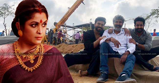 Ramya Krishna Grabs A Chance To Act In RRR Movie