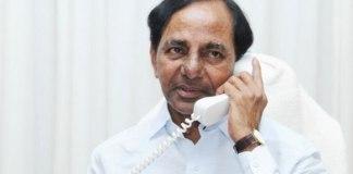 CM KCR Called to chinthamadaka sarpanch