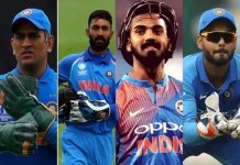 four wicket keepers in indian team