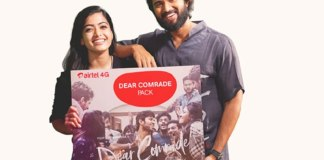 airtel to give chance to meet vijay devarakonda and rashmika