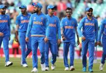 indian team to mumbai on 14