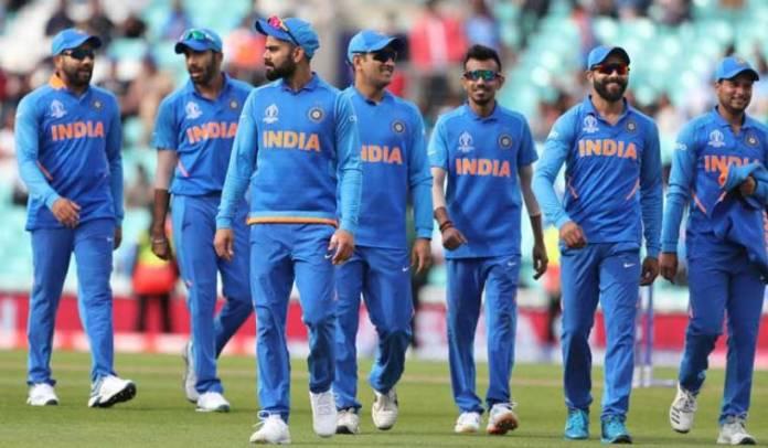 indian team to mumbai on 14