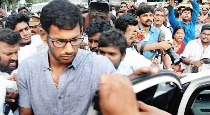 Arrest warrant issued for actor Vishal