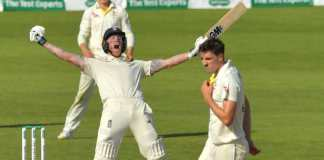 England who mowed the Aussies