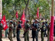 Congress leader links with maoists