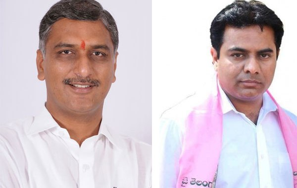 ktr went to harish rao home