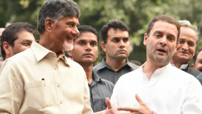 chandrababu and rahul gandhi