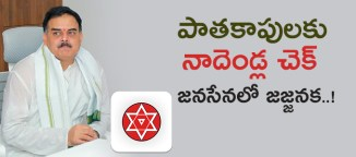 nadendla manohar grip in janasena party
