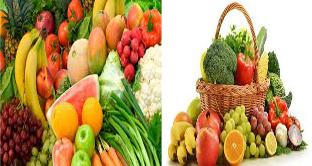 froots and vegitables