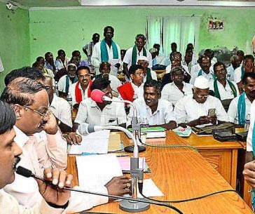 undavalli farmers happy andhra government tension