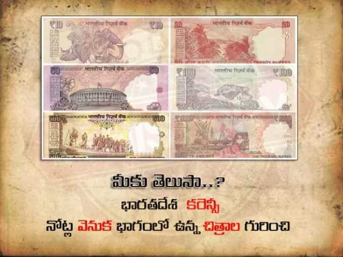 currency notes details