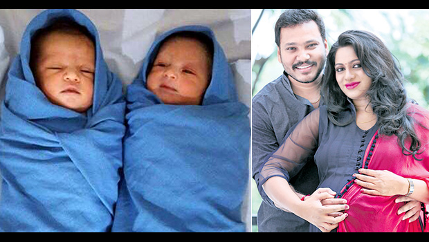 udaya bhanu to give birth to twin babbies