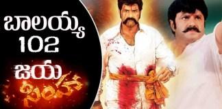 balakrishna as jaya simha 102 movie with ks ravikumar